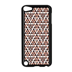 Snowflake With Crystal Shapes 2 Apple Ipod Touch 5 Case (black) by Cveti