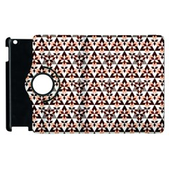 Snowflake With Crystal Shapes 2 Apple Ipad 2 Flip 360 Case by Cveti