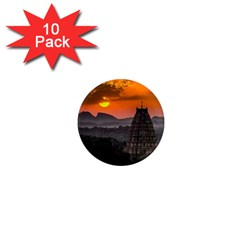 Beautiful Village Of Hampi 1  Mini Magnet (10 Pack)  by Celenk