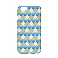 Squama Fish Blue Pattern Apple Iphone 6/6s Hardshell Case by Cveti