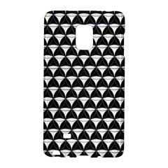 Diamond Pattern Black White Galaxy Note Edge by Cveti