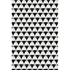 Diamond Pattern White Black 5 5  X 8 5  Notebooks by Cveti