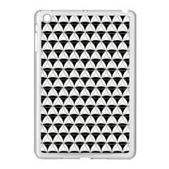 Diamond Pattern White Black Apple Ipad Mini Case (white) by Cveti