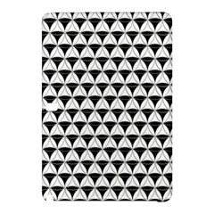 Diamond Pattern White Black Samsung Galaxy Tab Pro 10 1 Hardshell Case by Cveti