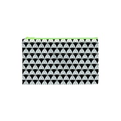 Diamond Pattern White Black Cosmetic Bag (xs) by Cveti