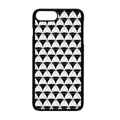 Diamond Pattern White Black Apple Iphone 7 Plus Seamless Case (black) by Cveti