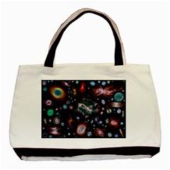 Galaxy Nebula Basic Tote Bag