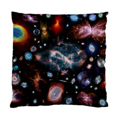 Galaxy Nebula Standard Cushion Case (two Sides) by Celenk