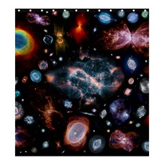 Galaxy Nebula Shower Curtain 66  X 72  (large)  by Celenk