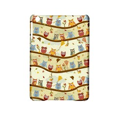 Autumn Owls Pattern Ipad Mini 2 Hardshell Cases by Celenk