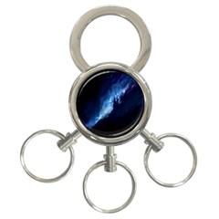 Nebula 3 Ring Key Chains