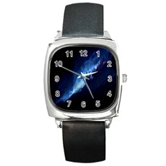 Nebula Square Metal Watch