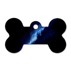Nebula Dog Tag Bone (two Sides)