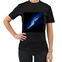 Nebula Women s T Shirt (black)
