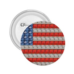 Geometricus Usa Flag 2 25  Buttons by Celenk