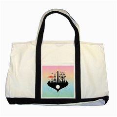 Future City Two Tone Tote Bag