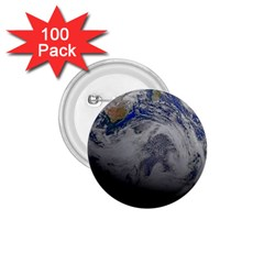 A Sky View Of Earth 1 75  Buttons (100 Pack)