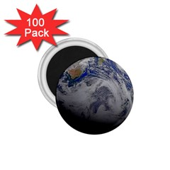 A Sky View Of Earth 1 75  Magnets (100 Pack)