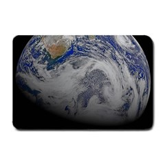 A Sky View Of Earth Small Doormat