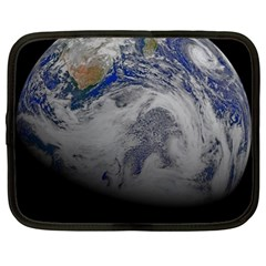 A Sky View Of Earth Netbook Case (xl)