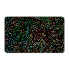 Zigs And Zags Magnet (rectangular)