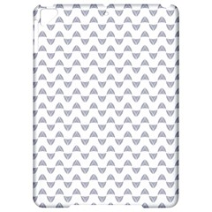 Wave Pattern White Grey Apple Ipad Pro 9 7   Hardshell Case by Cveti