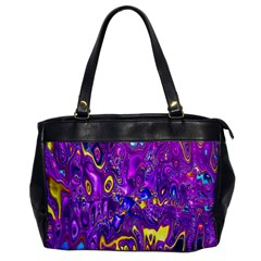 Melted Fractal 1a Office Handbags by MoreColorsinLife
