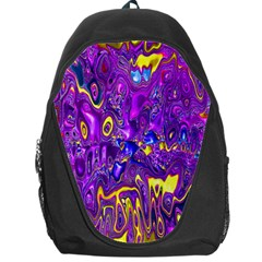 Melted Fractal 1a Backpack Bag by MoreColorsinLife