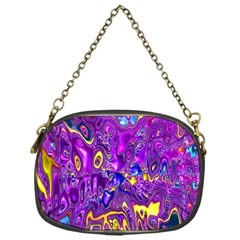 Melted Fractal 1a Chain Purses (one Side)  by MoreColorsinLife