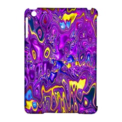Melted Fractal 1a Apple Ipad Mini Hardshell Case (compatible With Smart Cover) by MoreColorsinLife