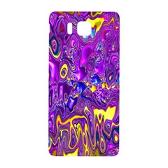 Melted Fractal 1a Samsung Galaxy Alpha Hardshell Back Case by MoreColorsinLife