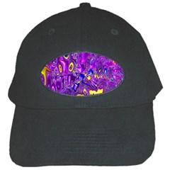 Melted Fractal 1a Black Cap by MoreColorsinLife