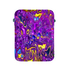 Melted Fractal 1a Apple Ipad 2/3/4 Protective Soft Cases by MoreColorsinLife