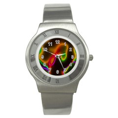 Vibrant Fantasy 4 Stainless Steel Watch by MoreColorsinLife