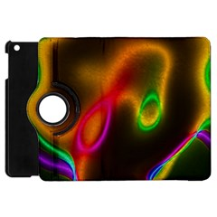 Vibrant Fantasy 4 Apple Ipad Mini Flip 360 Case