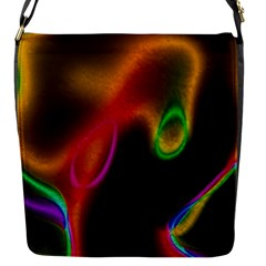 Vibrant Fantasy 4 Flap Messenger Bag (s) by MoreColorsinLife