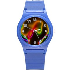 Vibrant Fantasy 4 Round Plastic Sport Watch (s) by MoreColorsinLife