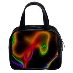 Vibrant Fantasy 4 Classic Handbags (2 Sides) by MoreColorsinLife