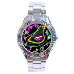 Vibrant Fantasy 5 Stainless Steel Analogue Watch by MoreColorsinLife