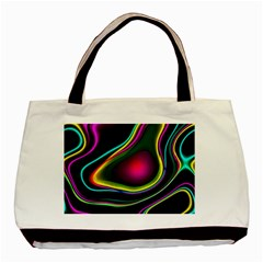 Vibrant Fantasy 5 Basic Tote Bag by MoreColorsinLife