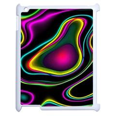 Vibrant Fantasy 5 Apple Ipad 2 Case (white) by MoreColorsinLife