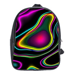 Vibrant Fantasy 5 School Bag (xl) by MoreColorsinLife