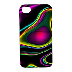 Vibrant Fantasy 5 Apple Iphone 4/4s Hardshell Case With Stand by MoreColorsinLife