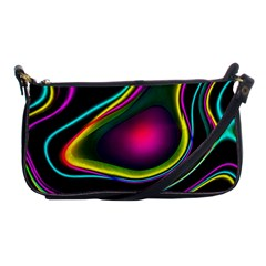 Vibrant Fantasy 5 Shoulder Clutch Bags by MoreColorsinLife