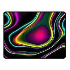 Vibrant Fantasy 5 Fleece Blanket (small) by MoreColorsinLife