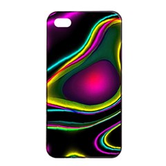 Vibrant Fantasy 5 Apple Iphone 4/4s Seamless Case (black) by MoreColorsinLife