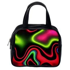 Vibrant Fantasy 1b Classic Handbags (one Side) by MoreColorsinLife