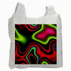 Vibrant Fantasy 1b Recycle Bag (one Side) by MoreColorsinLife