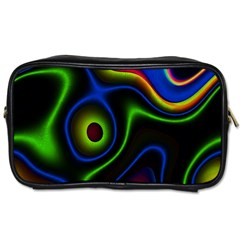 Vibrant Fantasy 6 Toiletries Bags 2 Side by MoreColorsinLife