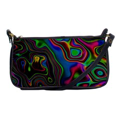 Vibrant Fantasy 6 Shoulder Clutch Bags by MoreColorsinLife